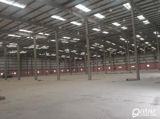 big store in industrial area