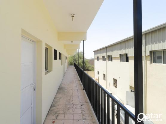 Well maintained 60 Rooms for labors Camp