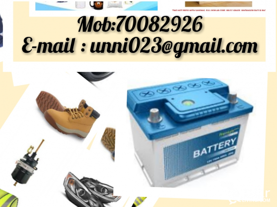 All Vehicle Parts at low cost Ph:70082926