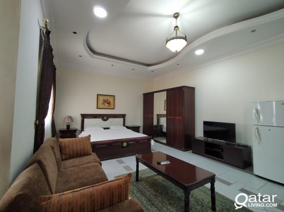 Large Furnished Studio Apartment in Al Aziziyah