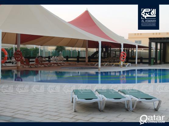 Semi Furnished 2-Bedroom Apartment in Al Luqtah
