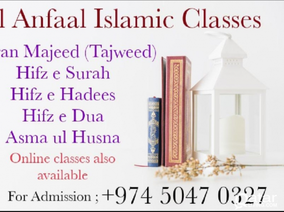 Qur'an class available for kids