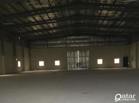 1200 SQMTR GENRAL STORE  FOR RENT IN INDUSTRIAL AREA