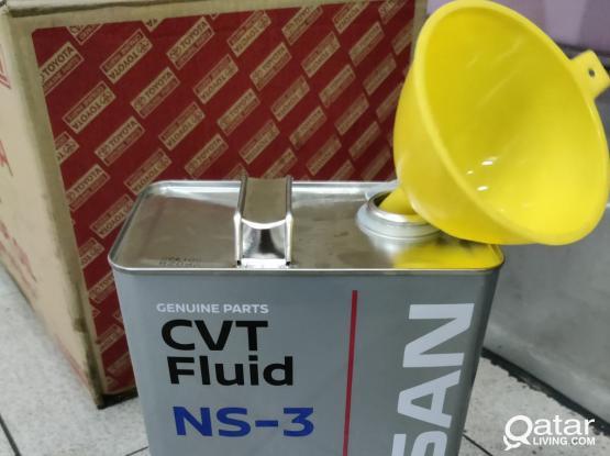 Nissan Qashqai, Gear Oil, CVT NS-3, Free