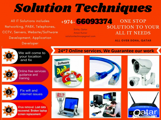 66093374 Cheapest IT Services,Networking, Cabling,Laptop,CCTV, IP Telephony/Repairs & Software