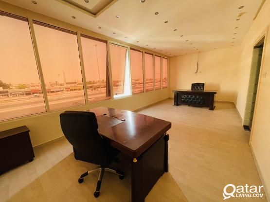 114 Square Metre Fully Furnished Office In Salwa Road.