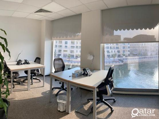 Prestigious Office | Fully Furnished | The Pearl