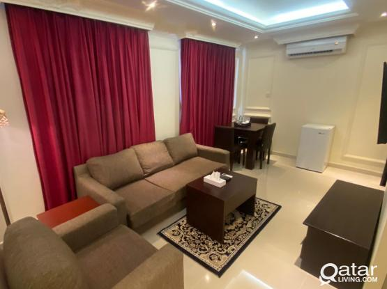 Fully Furnished 1BHK Apartment in a Luxury hotel at Old al Ghanim