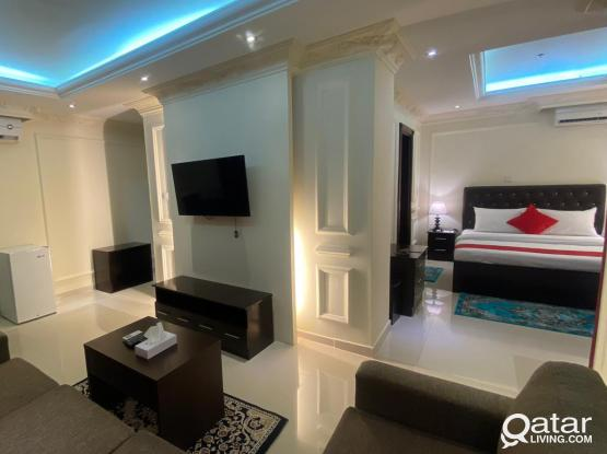 1BHK Apartment Fully Furnished at Old al Ghanim Area