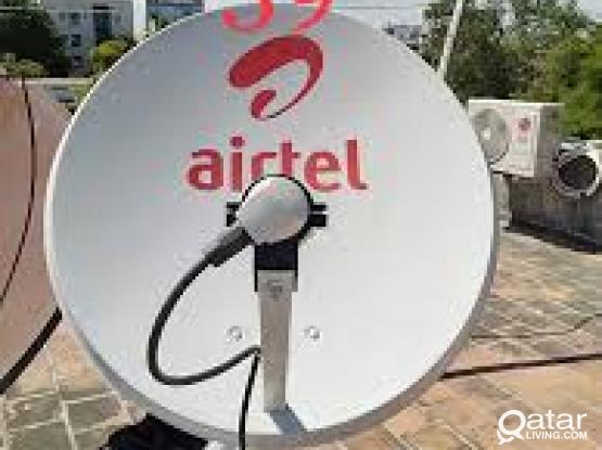 Satellite dish antenna service