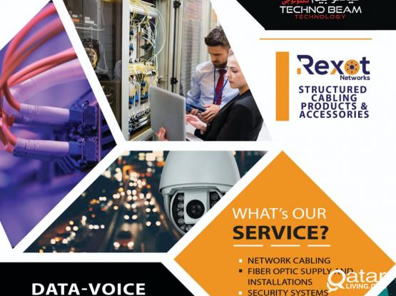 IT DATA VOICE STRUCTURE CABLING  CCTV INTERCOM SOLUTIONS