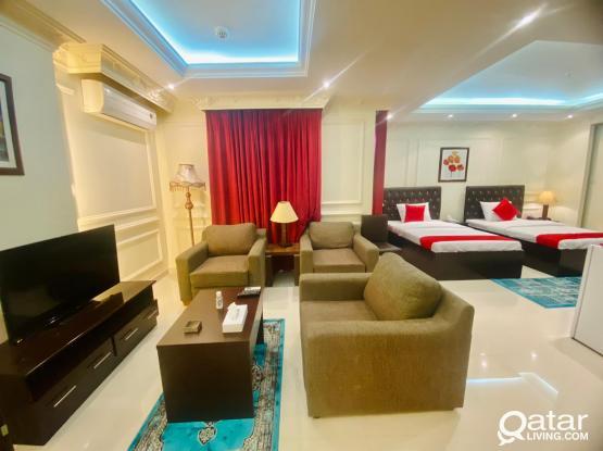 Nice 1BHK majestic Hotel Apartment at Old Al Ghanim