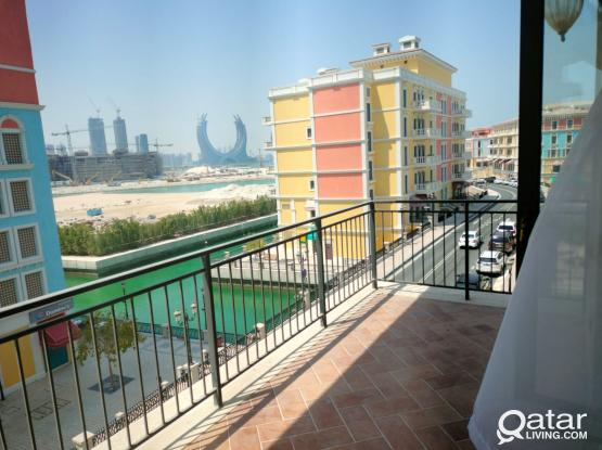 attractive & Elegant 1 BR with balcony & Facilities pearl
