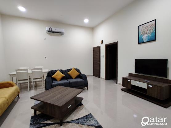 BRAND NEW FULLY FURNISHED 1BHK FOR RENT IN AL THUMAMA ( NEAR B SQUARE MALL)