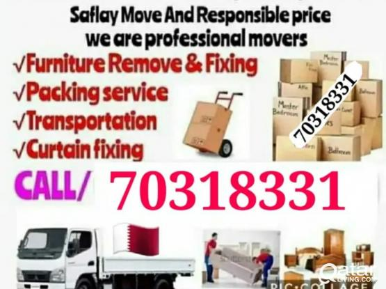Moving and shifting at best price. Please contact us 70318331