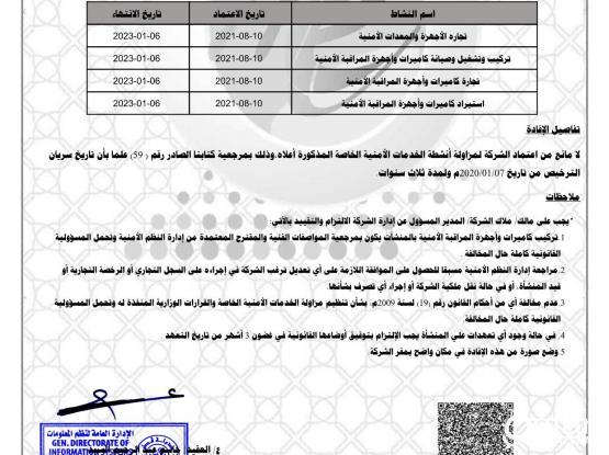 AL MIRQAB SYSTEM SECURITY