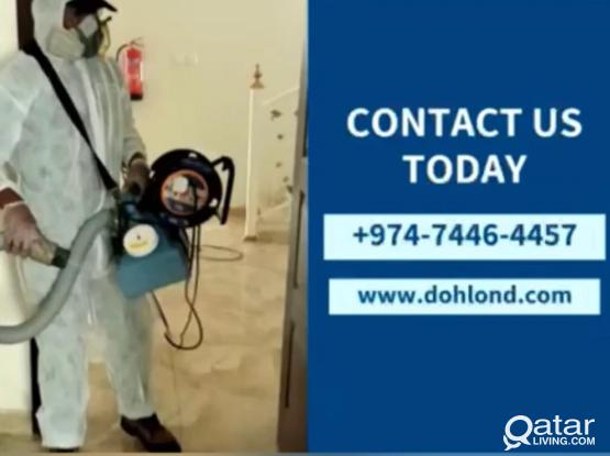 PEST CONTROL - DISINFECTION SERVICES - Pearl / Dafna / Lusail /Al Khor-74464457