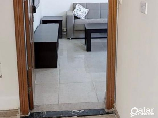 Ezdan 32 Fully Furnished 1BHK Flat Sharing Room