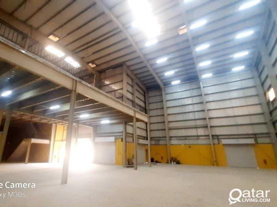 1400 SQM STORE / WORKSHOP WITH 12 ROOMS