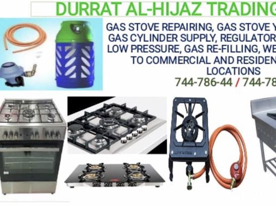 Gas Stove Repairing-Gas Stove Servicing-Gas Supply