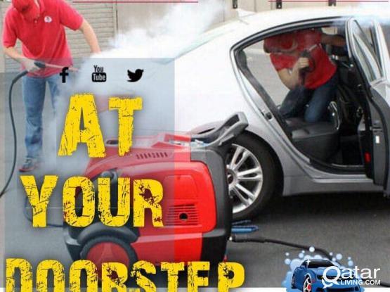 Car Steam Cleaning & Polishing