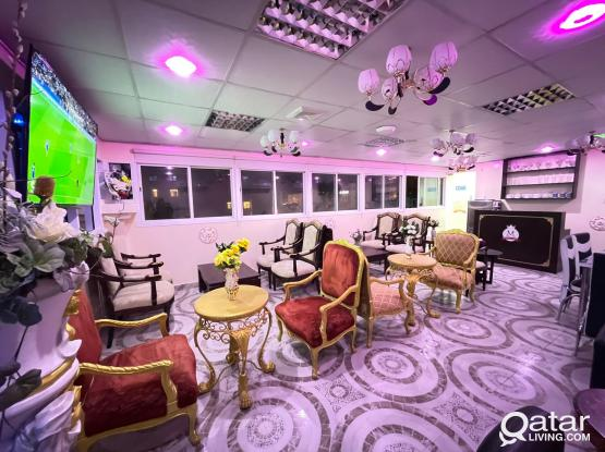 Coffee Shop / Shisha Café for Rent in Old Al Ghnaim