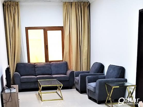 Stunning 1BHK Fully Furnished Apartment in Doha jadeed