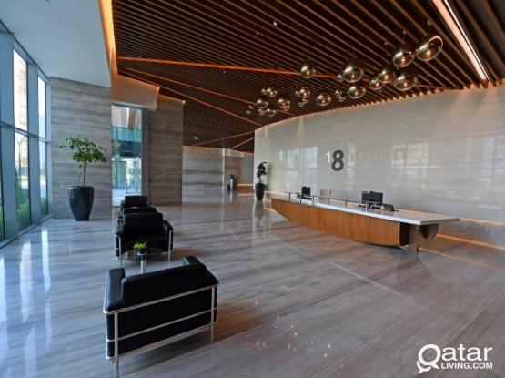 Office For Rent in The e18hteen Tower Lusail Marina