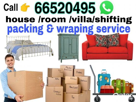Moving and Packing experts, we are reliable and will take care of your belongings. Please call 66520495