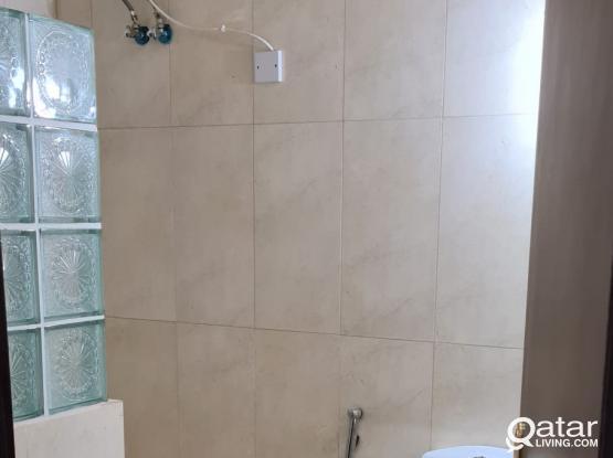 1bhk Hilal/thumama villa No.35 (BACK SIDE OF TAYSEER FUEL STATION)furnished apartment ground floor