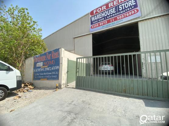 600 SQM General Store For Rent Industrial Area Street 47