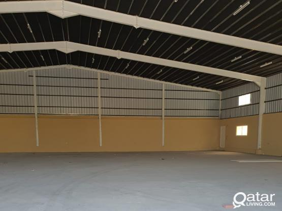 1150 SQUARE METER STORE+500 SQUARE METER LAND WITH 7ROOMS FOR RENT IN INDUSTRIAL AREA