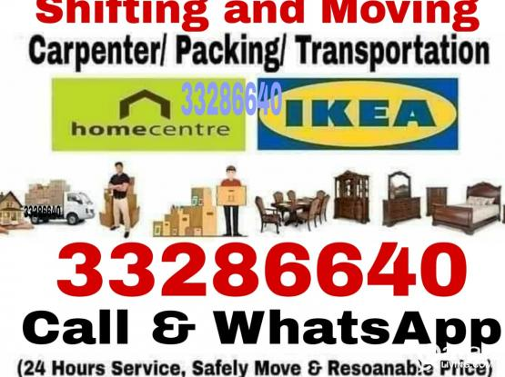 We do all type of shifting, moving and carpentry. Please call 33286640