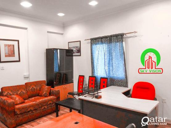 Fully Furnished shared office space in Bin omran !!