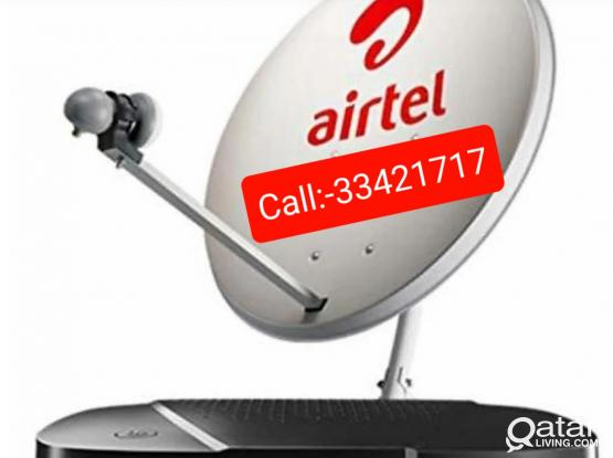 We do work Installation all Satellite Dish Tv New & old fixing Dish & Moving  Tv signal service Call Me:974:-33421717.Any time 24/7 hour Doha city. New & Old Dish Tv receiver fixing work. Dish Tv Moving & Shifting work. Now Discount Offer.