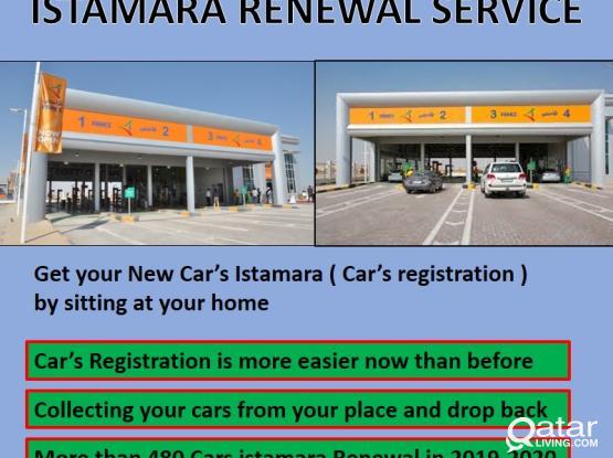 REGISTRATION OF CARS : ISTAMARA RENEWAL | ALL TYPES OF CARS REPAIRING