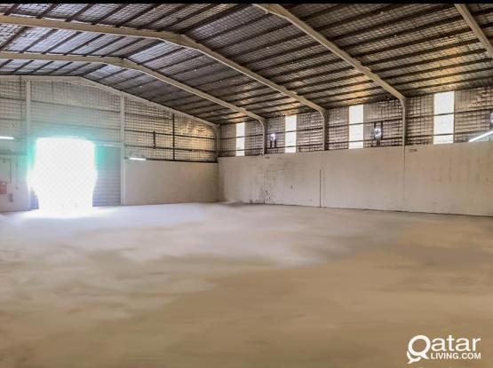 Offering 600 SQM Big Store @ Industrial area For Rent