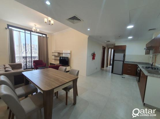 Fully Furnished 2 BHK Apartment including kahramaa