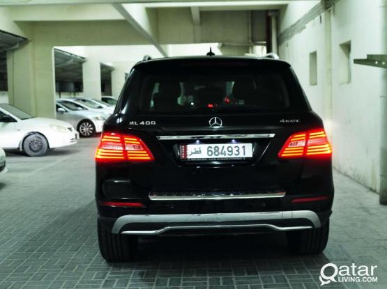 MERCEDES ML400 WITH DRIVER