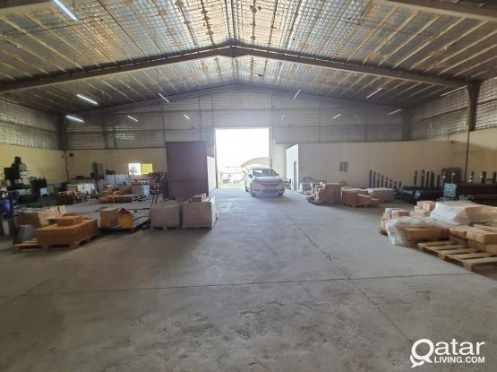 600sqm store for rent industrial Area