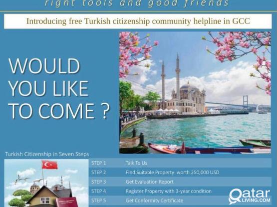 Free Turkish Citizenship Community helpline Qatar