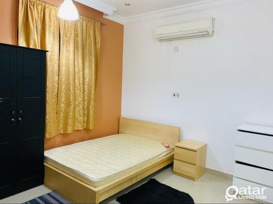 Fully furnished  Studio apartment - Near Al thumama Stadium/E ring Road