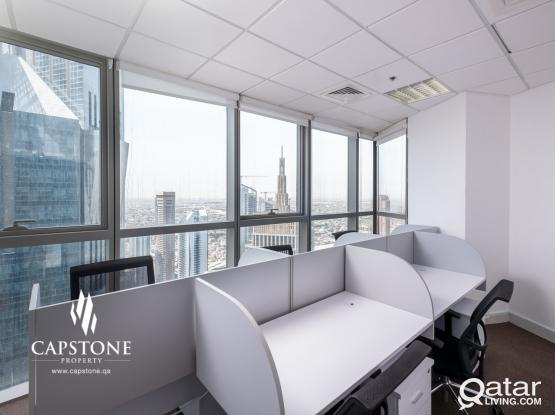 Fully Fitted and Furnished Office with Sea View