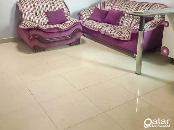 Furnished, 1 BHK Flat in Muaither near Al Wathan Mall