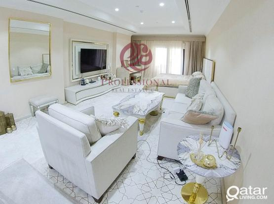 For Sale Furnished, 1 Studio Apartment in The Pearl Qatar