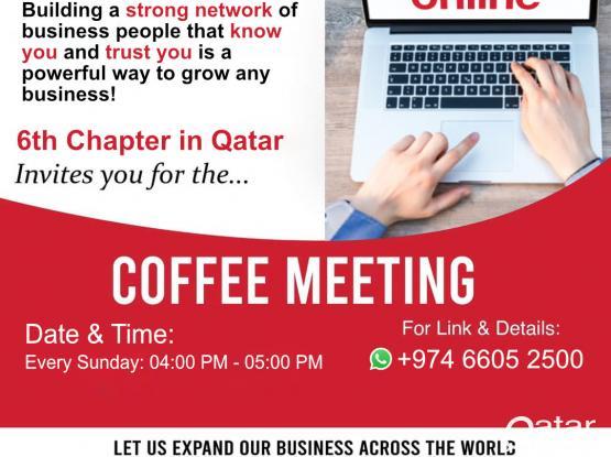 BNI Qatar Meeting Invitation