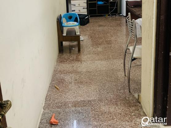 SMALL 1 BHK FOR FAMILY VILLA AT AL HILAL ( near mamoura complex)