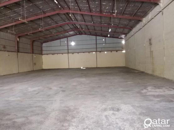 1000 Workshop with 3 Room For Rent