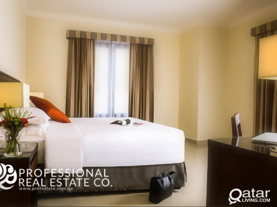 Furnished, 1 BHK Apartment in The Pearl near Novo Cinemas