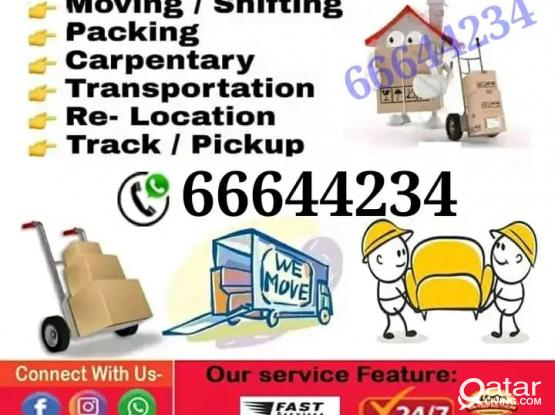 Shifting and moving works big or small. Reliable and quick. Please call 66644234